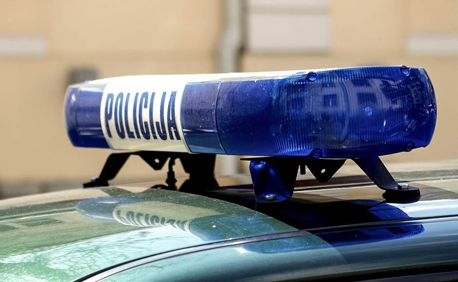 policija, kola, patrola, rotacija, znak, policijska