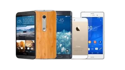 HTC, Motorola, Samsung, Apple, Sony