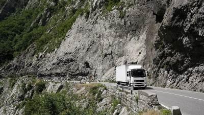 kanjon Morače, put, drum, saobraćaj