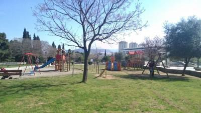 park sunce pobrežje