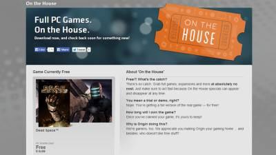 Origin, Besplatne igre, Legalne igre, Dead Space