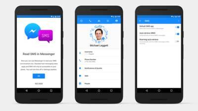 Facebook Messenger SMS poruke, Messenger, Aplikacije, telefoni, poruke, SMS