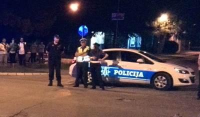 policija udes