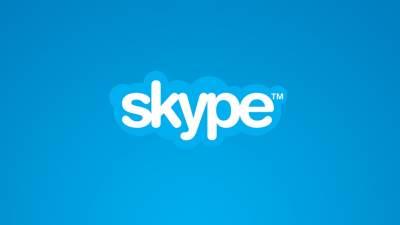 Skype logo,