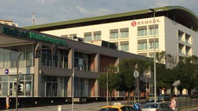 Ramada, hotel, Gintaš, Mall of Montenegro