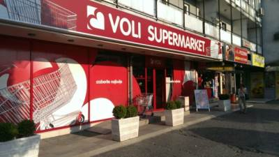 Supermarket, Voli, Podgorica