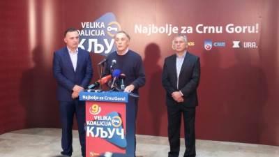 Koalicija Ključ, Ključ, Lekić, Milić