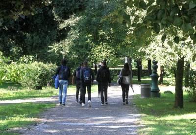 park podgorica šetnja đaci djaci
