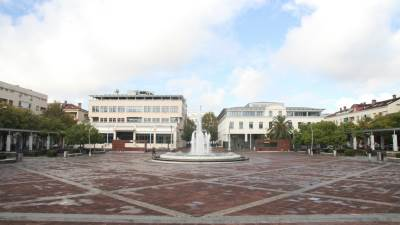 kiša Podgorica centar fontana