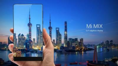 XIaomi Mi MIX, Android, Pametni telefoni, Mi MIX, Koncept