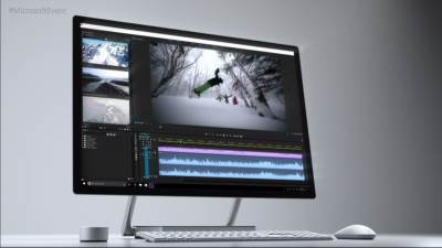 Microsoft, Surface Studio PC, All in One, AiO, PC, Komp, Računar, Kompjuter