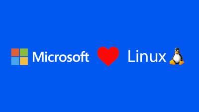 Linux, Microsoft