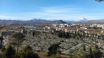 groblje , Čepurci