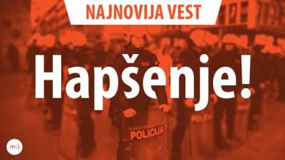 hapšenje,najnovija vest,najnovija,poslednja vest,vest