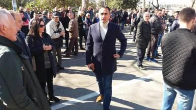 protest DF Damjanović Damjanovic SNP