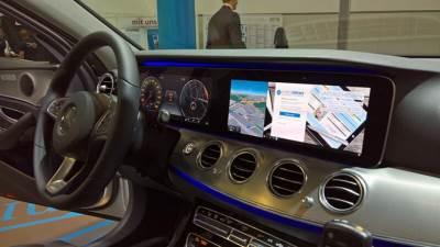 windows 10, continuum, mobilni, nemačka policija, koncept, sajam, mercedes, e klasa