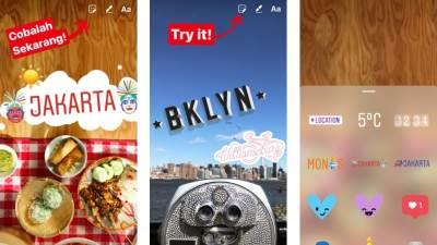 Selfi, Insta, Instagram stiker, Selfi stiker
