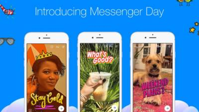 Facebook, Messenger, My Day, aplikacije