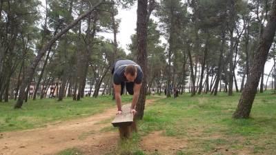trening u parku