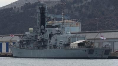 krstarica NATO britanski brod