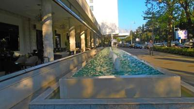 Podgorica grad centar šetnja Hilton