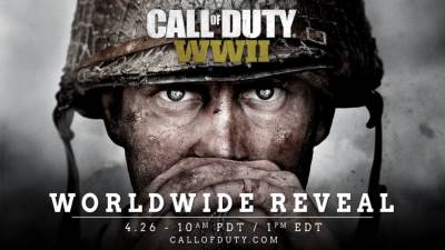 Call of Duty, WWII, promo poster