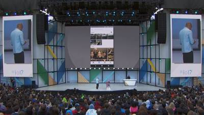 Google I/O 2017, Google Photos, Google Lens