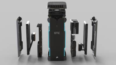 CORSAIR ONE, gaming, PC, komp, gejming