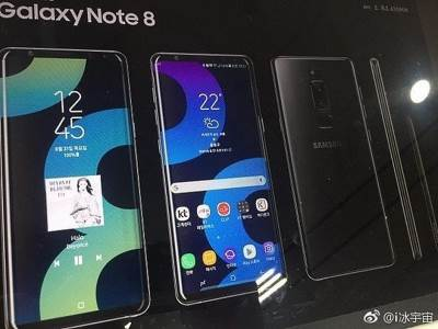 Samsung Galaxy Note 8, Note 8, Plakat Note 8