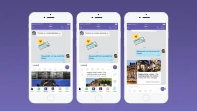 Viber Chat Extensions Android aplikacija, iOS aplikacija