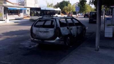 Stara Varoš auto izgorelo