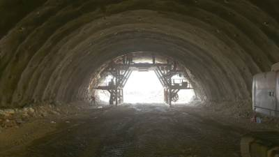 klopot tunel autoput