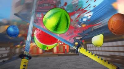 Fruit Ninja VR igra
