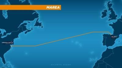MAREA, Internet kabl