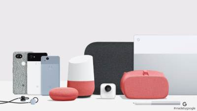 Google, Gugl, Pixel, Home, Google Home Mini, VR, Daydream, PixelBook