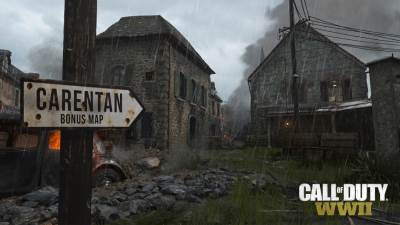 Call of Duty: WWII Carentan mapa