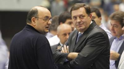 Duško Vujošević, Milorad Dodik