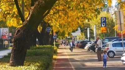 Podgorica jesen šetnja