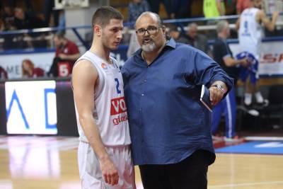 Nikola Ivanović i Aleksandar Džikić