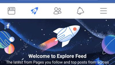 Facebook Explore Feed Facebook raketa
