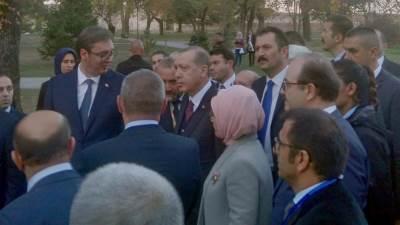 Erdogan redžep tajip turska kalemegdan  vučić i erdogan