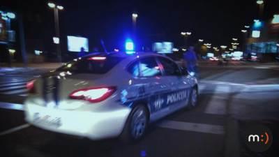 Policija, udes, policajci, teambuilding