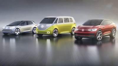 folksvagen, električni automobili, koncept