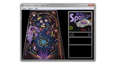Fliper, Fliperana, Windows 3D Pinball, Pinball