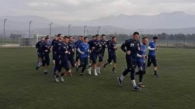 FK Budućnost trening Buducnost fudbaleri Budućnosti