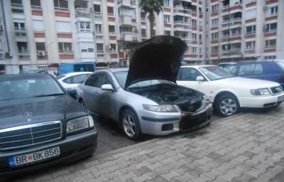 paljenje automobila
