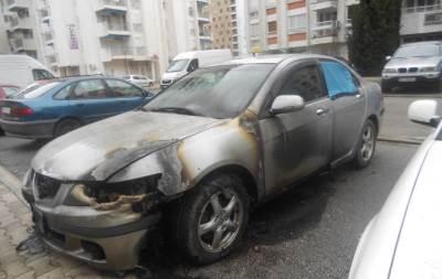 zapaljena kola
