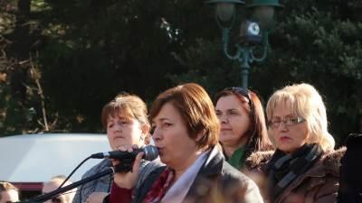 Protest majki Savković
