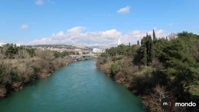 vrijeme morača rijeka sunčano