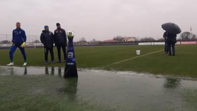 kiša, fudbal